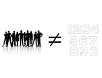 Humans ≠ Numbers